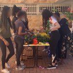 פעילות עם נערות בסיכון בבית חם ממרכז הארץ